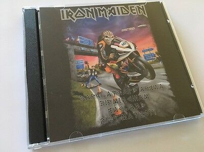 Iron Maiden Double CD Birmingham England The Book Of Souls Tour 2017