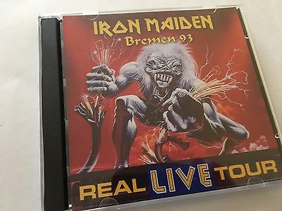 Iron Maiden Double CD Bremen Germany Real Live Tour 93