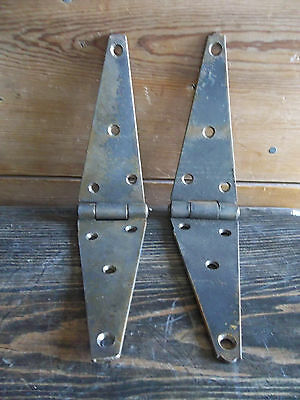 "Barn Door HINGE 12""L Original Screws & condition Barn Door hardware Set of 2"