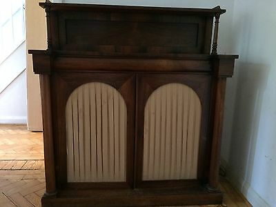 Antique Victorian Mahogany Chiffonier For Restoration / Shabby Chic / Project