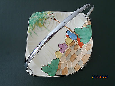 Vintage Art Deco 1930s J H Weatherby & Sons cake plate