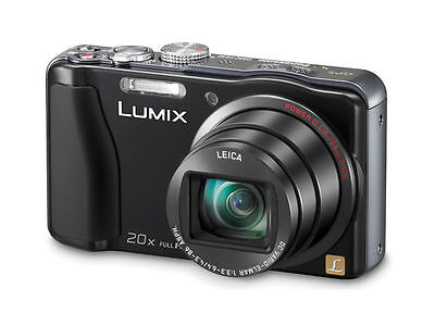 Panasonic LUMIX DMC-ZS20/DMC-TZ30 14.1 MP Digital Camera - Black