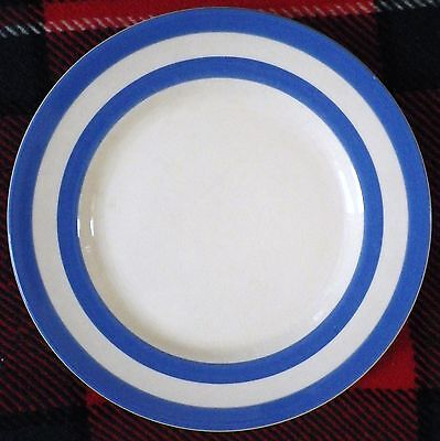 """Vintage Tg Green Cornishware Plate-9""""-Great Condition!!!"""