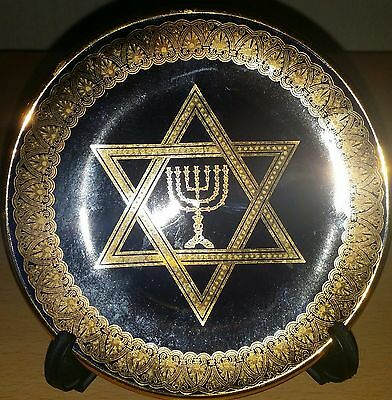 Decorative star of David Plate and Stand