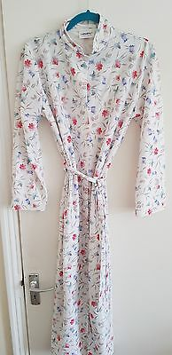 Vintage dressing gown 1960s -70s 10-12 (WX)