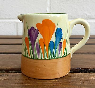 Clarice Cliff -Autumn Crocus- Wilkinson Newport Bizarre Cream Jug Milk/tea Pot