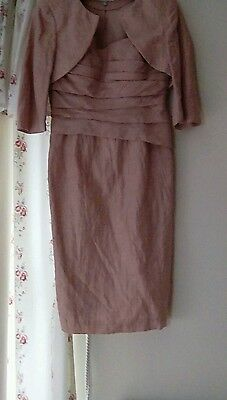 ElegantJohn Charles mother of the bride outfit size 12 and clutch bag