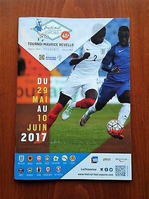 Toulon Tournament 2017 Official program