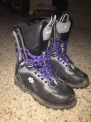 Motorfist Women's Contessa Snowmobile Boot Size 8 with eVent Waterproof
