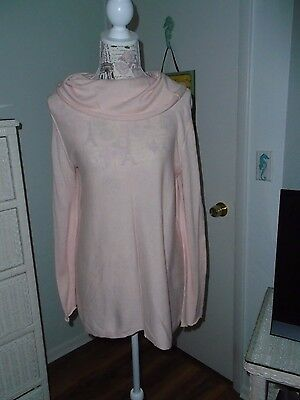 MOTHERHOOD Maternity Size L Lightweight Pink Knit Top Pre-owned