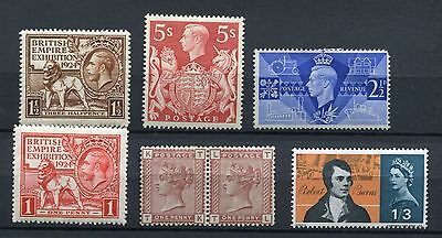 GREAT BRITAIN  - Selection Miscellaneous,MH