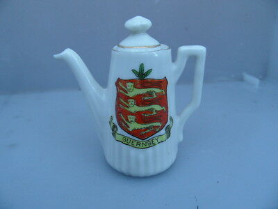 Crested Ware    GUERNSEY Crest   Channel Islands        SEE PHOTOS