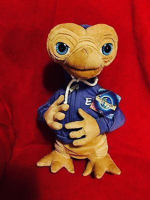 "E.T. Extra Terrestrial 15"" Plush With Blue Hoodie"