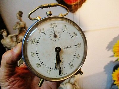 REGULADORA vintage table alarm-clock (from the factory founded in Portugal 1892)