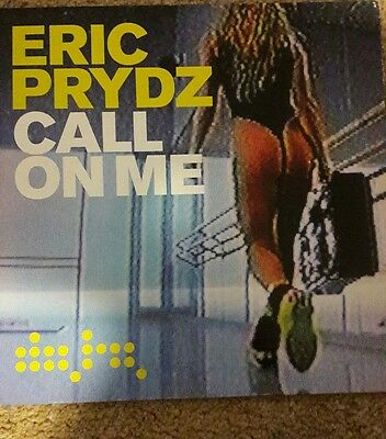 """Eric Prydz - Call On Me, A 3-Mix 12"""" Vinyl, Data Records, Data68T (2004)"""