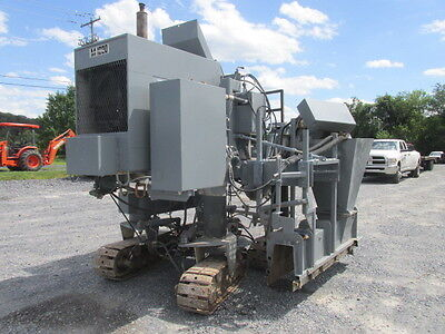 2001 Miller M1000 Tracked Concrete Curb Machine. Coming In Soon!