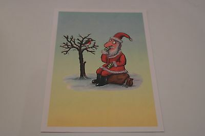 Limited Edition 2012 Christmas Stamp Design Print (by Axel Scheffler)