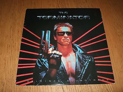 RARE The Terminator Original Soundtrack Enigma 72000-1 Arnold Arnie LP 1984