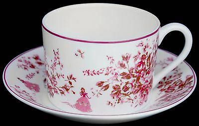 Wedgwood ~ Disney Beauty And The Beast ~ Imperial Tea Cup & Saucer ~ RARE