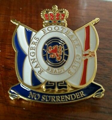 SPL football Glasgow Rangers loyalist Pin Badge - collectors
