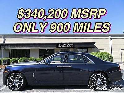 2016 Rolls-Royce Ghost  ONLY 900 MILES! SPECIAL ORDER! 1-OWNER CLEAN CARFAX CERTIFIED!