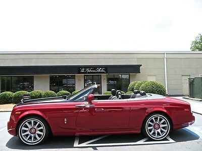2015 Rolls-Royce Phantom Drophead Coupe MSRP $529,005 ULTRA RARE SPECIAL ORDER 1 OF 1! 1-OWNER CLEAN CARFAX CERTIFIED