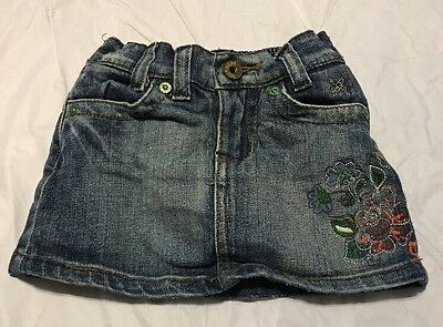 Place Baby Girl Jean Skirt Size 12M
