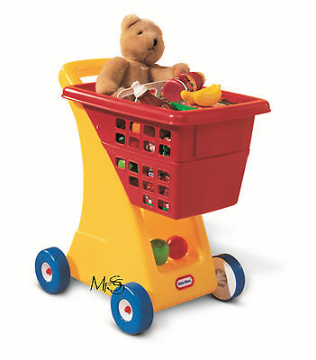 Little Tikes Shopping Cart Primary Colours Shopping Trolley * New *