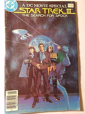 Star Trek III Search For Spock 1984 DC Movie Special