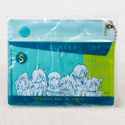 Slayers Try Pass Card Case Lina Inverse Gourry Xelloss JAPAN ANIME MANGA
