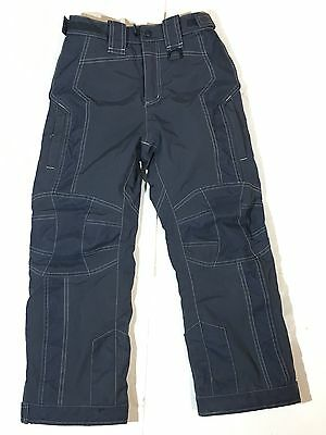 Youth Boys Girls LLBean Thinsulate Gray Snow Ski Pants Size 8 Durable Insulated