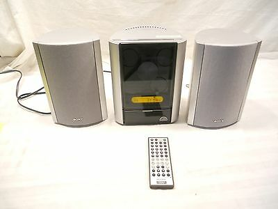 Sony Micro Hi-Fi Component System, Cmt-Ex5, With Speakers And Remote