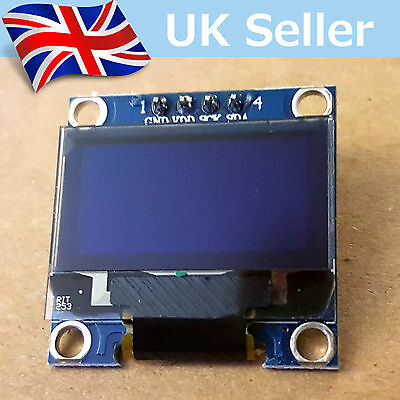 "I2C OLED Display 128X64 0.96"" SSD1306. For Arduino / Raspberry Pi / ESP8266 etc"