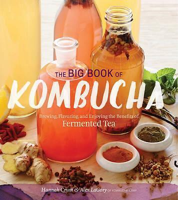The Big Book of Kombucha  by Hannah Crum Book | NEW AU