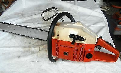 Husqvarna 61 Chainsaw Rancher Excellent Shape  51 266 50 288 Jonsered 525 630