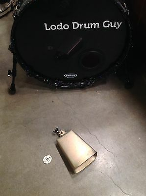Latin Percussion Prestige Line Cowbell HAND CRAFTED USA