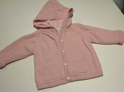 Country Road Girls thick Winter Jacket Size 6-12 months pink