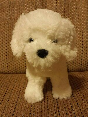 Douglas Plush Dog White GUC
