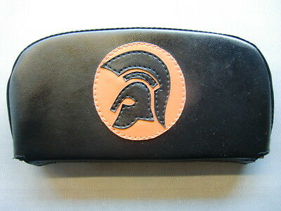 Black/ Orange Trojan Scooter Back Rest Cover (Purse Style)