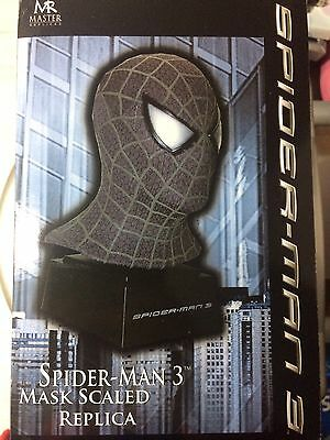 Master Replicas Spiderman Bust Black Suit from Spiderman 3 Movie