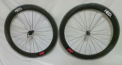 HED JET Carbon Clincher Wheelset Shimano 8/9/10 Speed