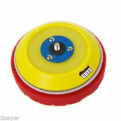 """Chemical Guys 5"""" Hook Loop System Porter Cable Replacement Urethane Backer Plate"""