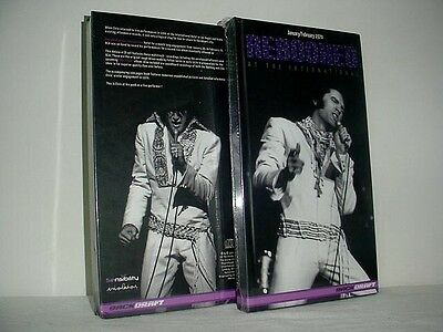 Elvis On Stage February (1970) Rebooked At The International 4 CD, Book, Boxset!