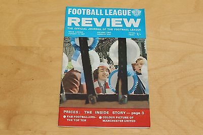 Football League Review - Vol 2 No 1 - 19th August 1967 - Manchester United FC