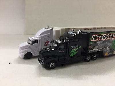 N Scale Racing Champions 1:144 Scale Race Car Haulers KW T600 & Ford Aeromax.