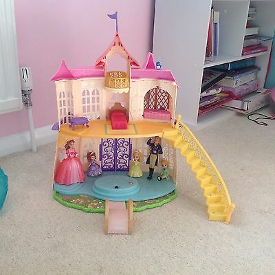 Disney Sofia The First Magical Talking Castle