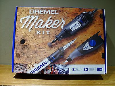 Dremel 32-Piece Variable Speed Multipurpose Rotary Tool Kit with Hard Case