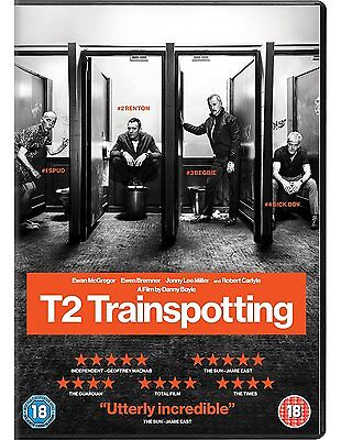 T2 Trainspotting 2017 Dvd Englisch