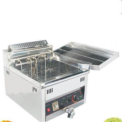 Luxury Electric Fryer Single Cylinder Commercial Electric Fryer