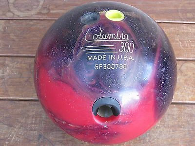 Retro Bowling Ball 10 pin Deceased Estate lot 6.8kg Columbia 300 made USA